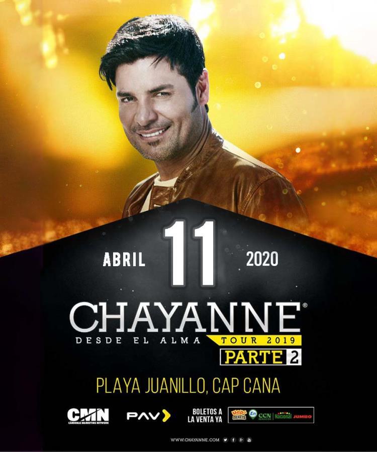 Chayanne, Desde El Alma Tour 2019, Parte 2