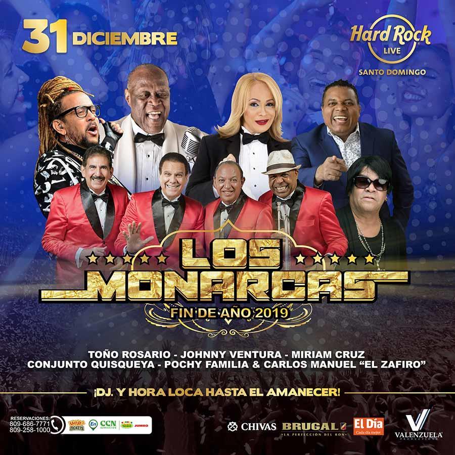 Los Monarcas  Fin De Año 2019