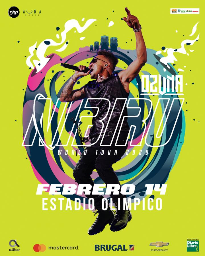 Ozuna Nibiru Tour 2020