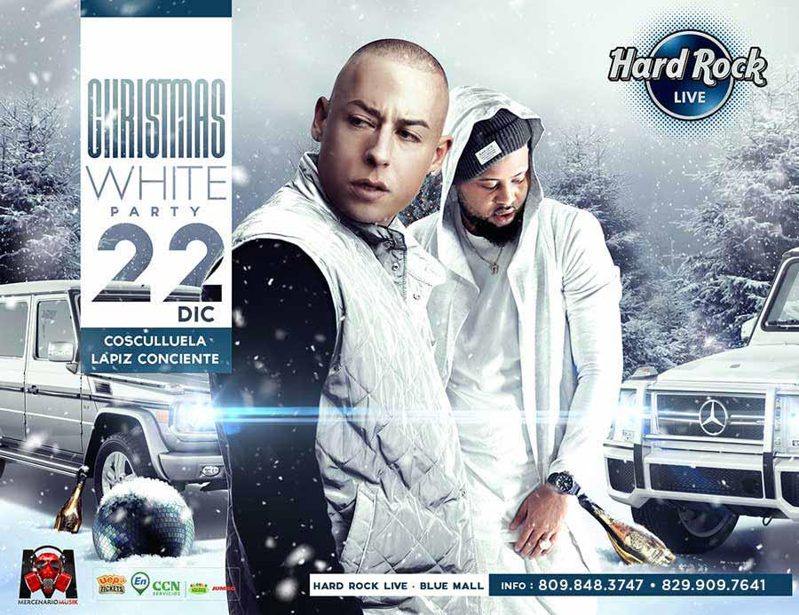Christmas White Party: Cosculluela + Lapiz Conciente