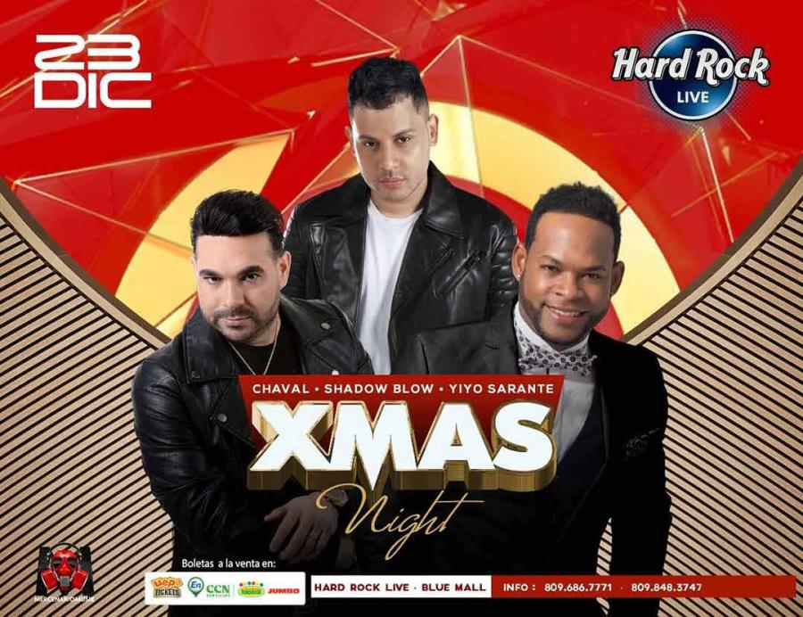 Xmas Night: El Chaval, Yiyo Sarante y Shadow Blow