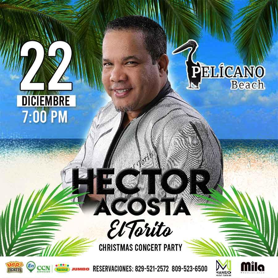 Héctor Acosta Christmas Concert Party