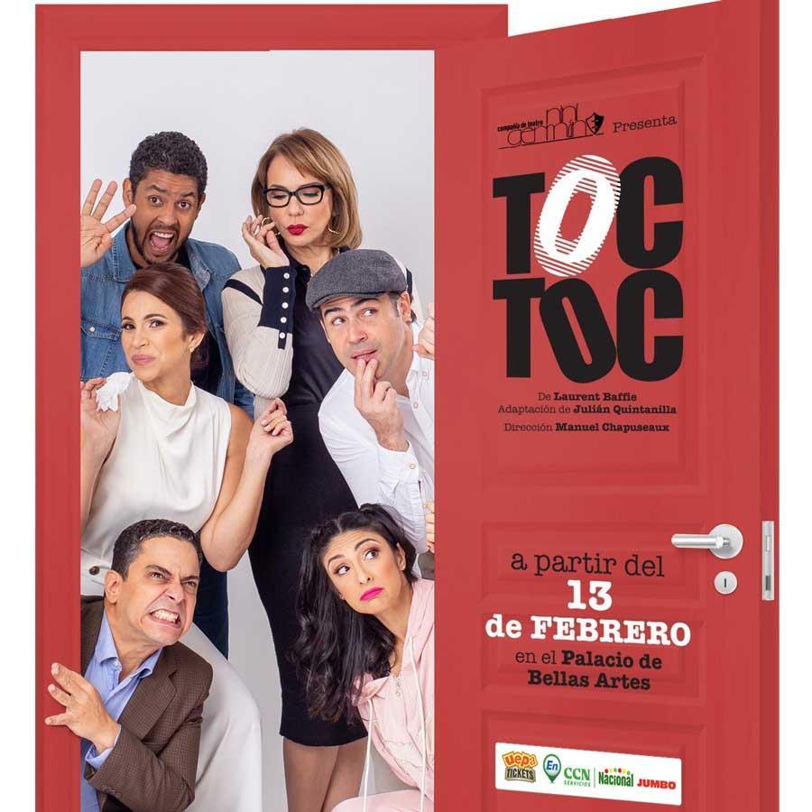 Toc Toc de Laurent Baffie, Adaptacion de Julian Quintanilla