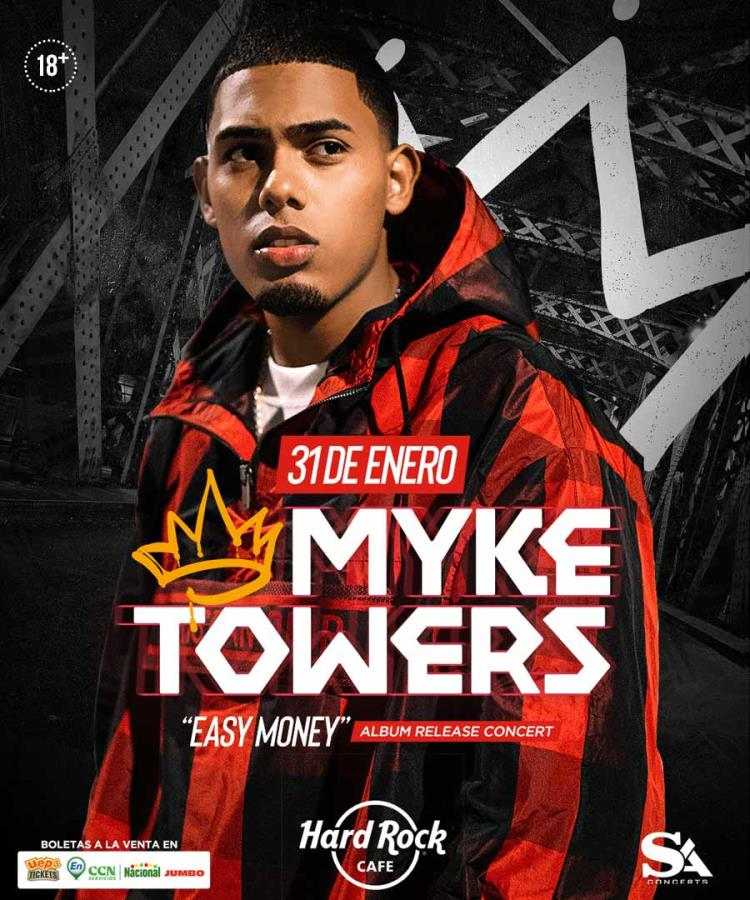 "Myke Towers ""EASY MONEY"" Release Album Party"