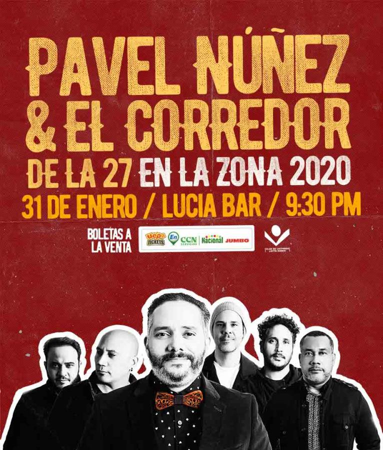 Pavel Núñez en la Zona 2020