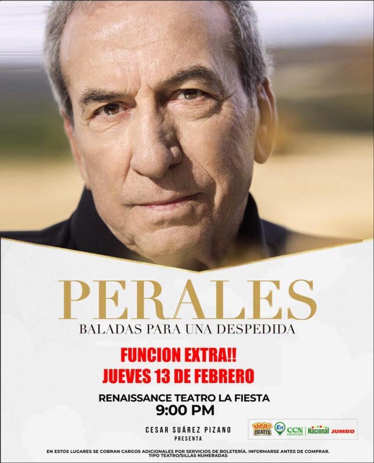José Luis Perales Concierto de Despedida