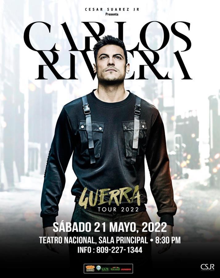 Carlos Rivera Guerra Tour 2020