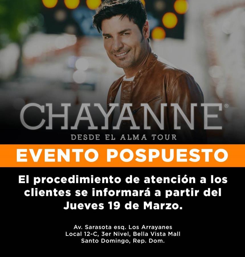 Chayanne Desde El Alma Tour