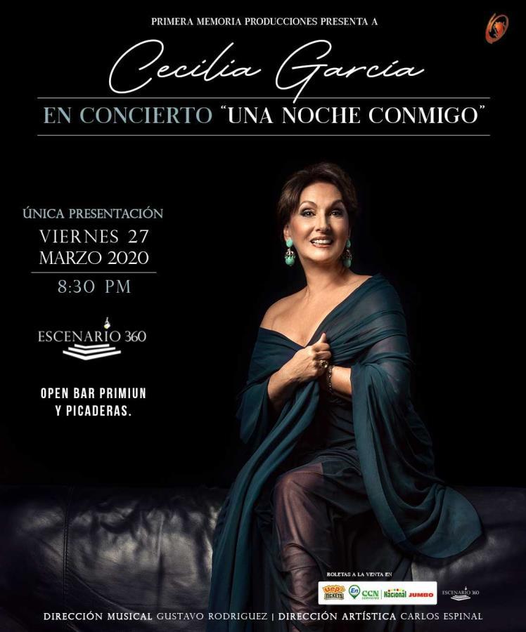 Cecilia García en: Una Noche Conmigo