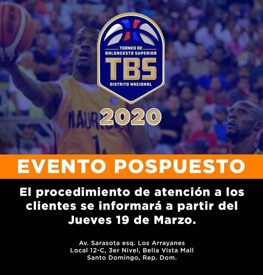 Torneo De Baloncesto Superior Del Distrito Nacional 2020