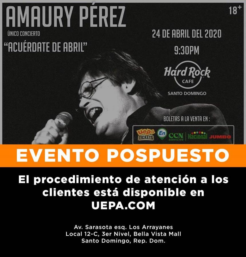 Amaury Pérez: Acuerdate De Abril