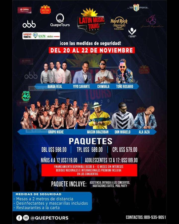 Latin Music Tours 2020