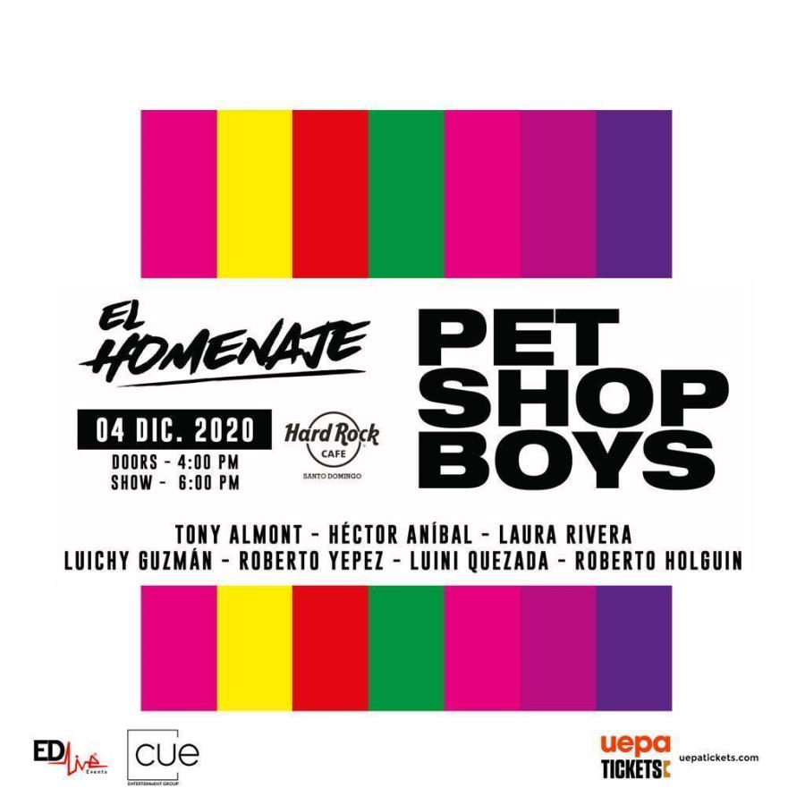 "Pet Shop Boys ""El Homenaje""."
