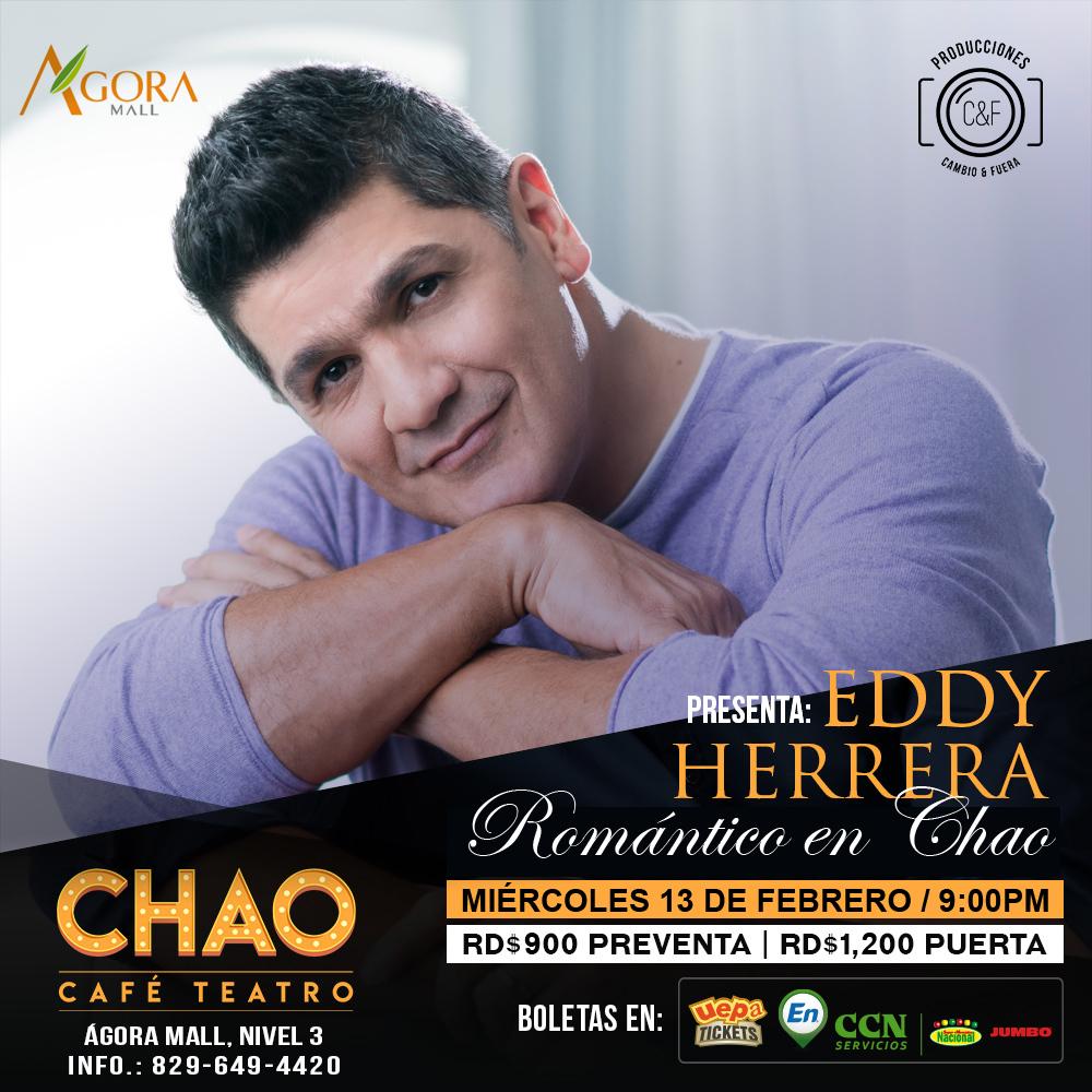 Eddy Herrera Romántico en Chao