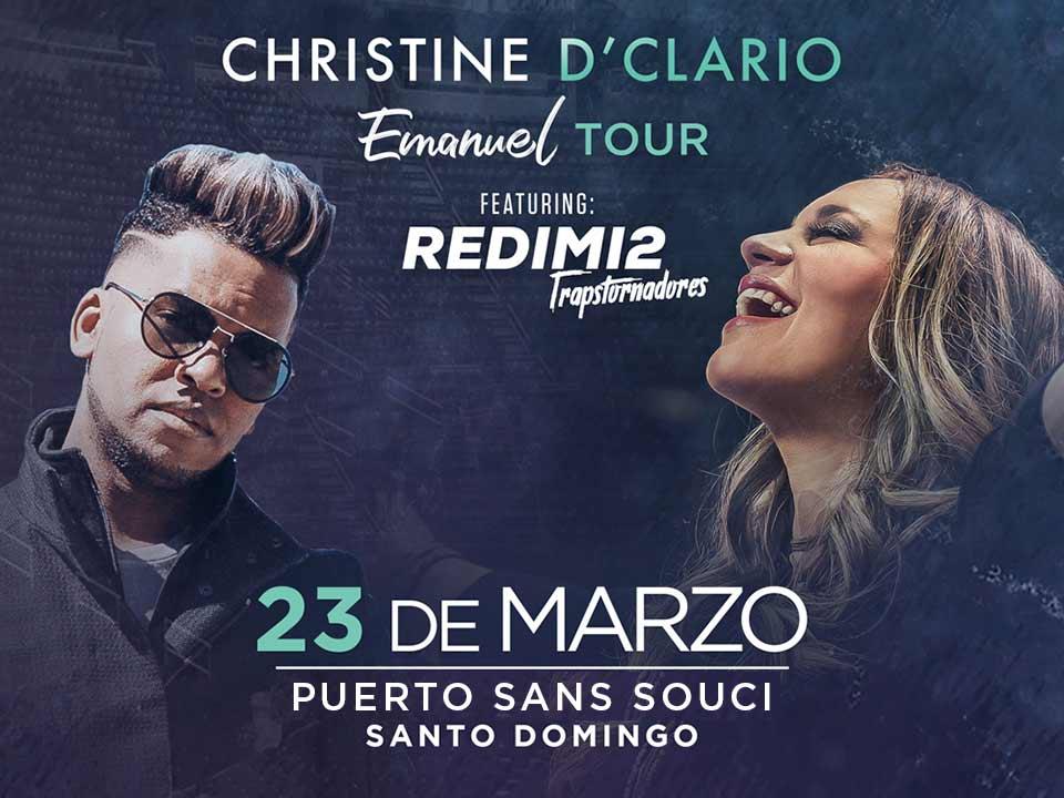 Christine D'Clario Emanuel Tour Ft Redimi2