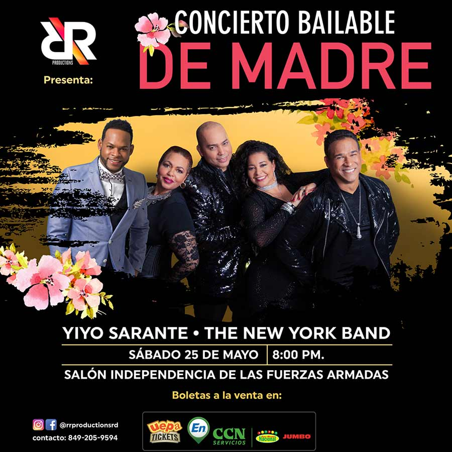 Yiyo Sarante & The New York Band: De Madre