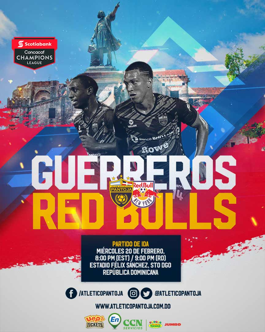 CONCACAF Champions League 2019: Club Atletico Pantoja VS New York Red Bulls