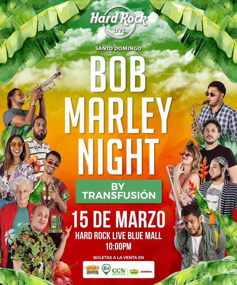 Bob Marley Night By Transfusion