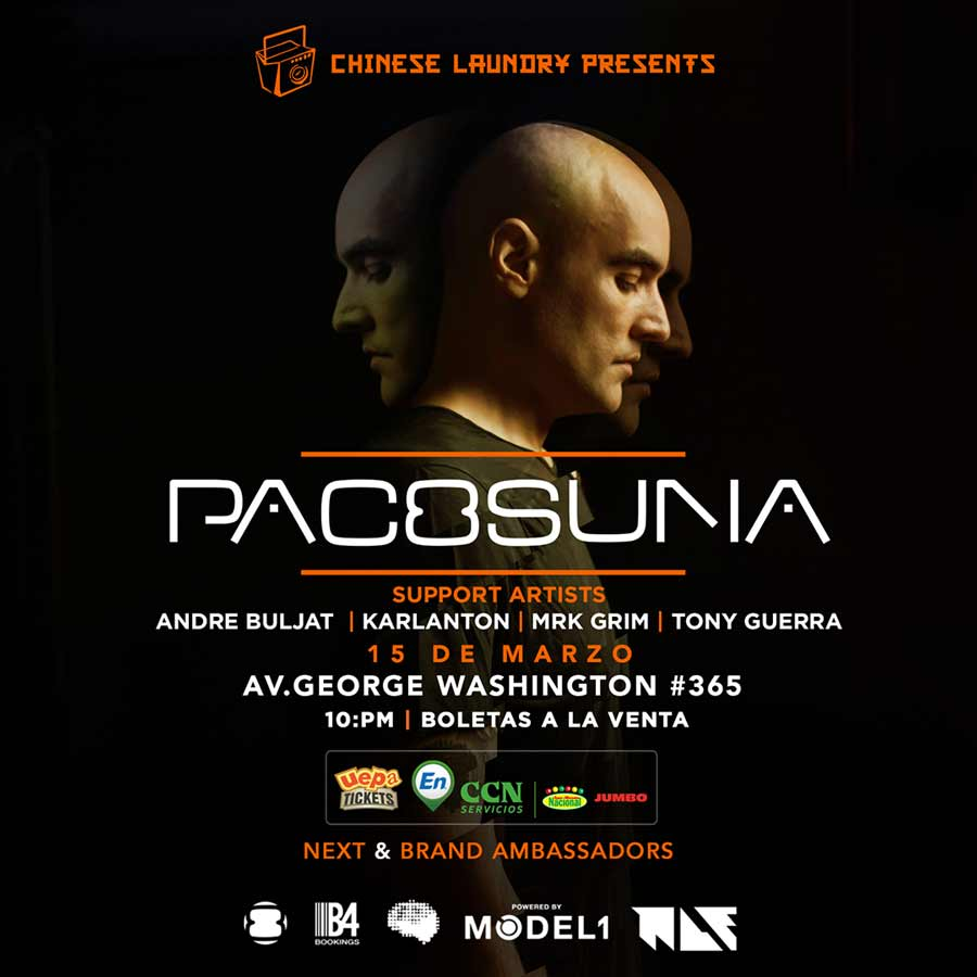 The Chinese Laundry Presents: Pacosuna