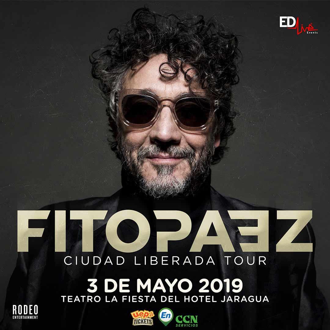 """Fito Páez """"Ciudad Liberada Tour"""""""