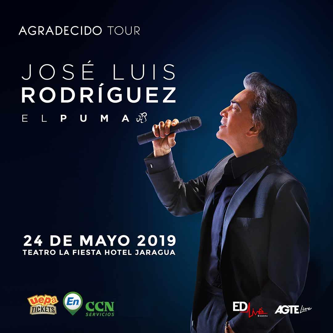 """José Luis Rodríguez """"El Puma"""" """"Agradecido Tour"""""""