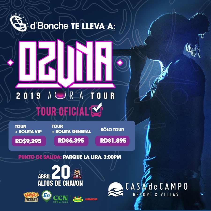 Tour Grupo D'Bonche Concierto Ozuna
